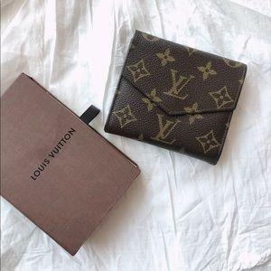 Louis Vuitton Vintage Double Flap Monogram Wallet